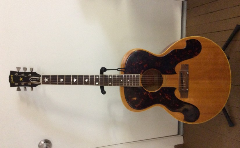 1963 custom order Everly Brothers Gibson J-180 W/ OHSC