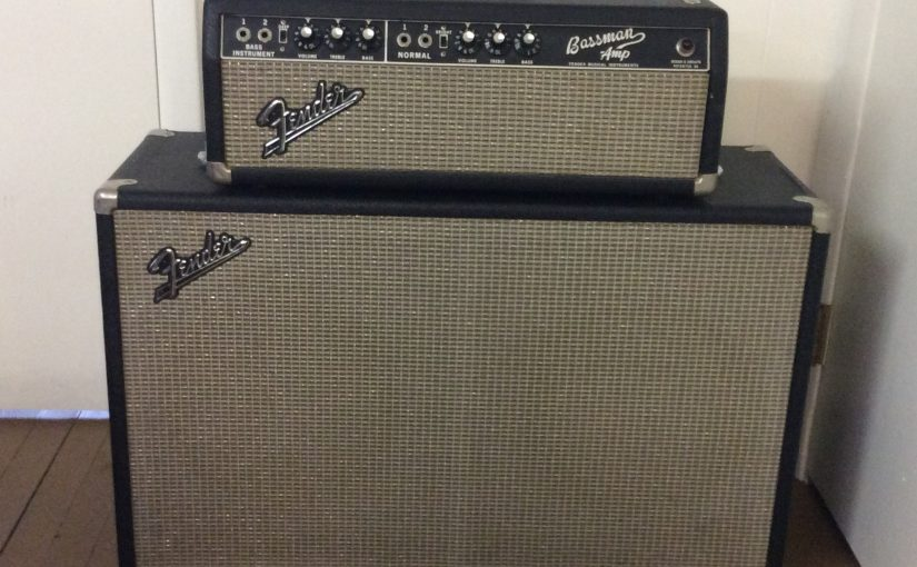 Fender Bassman 2×12 piggy back set