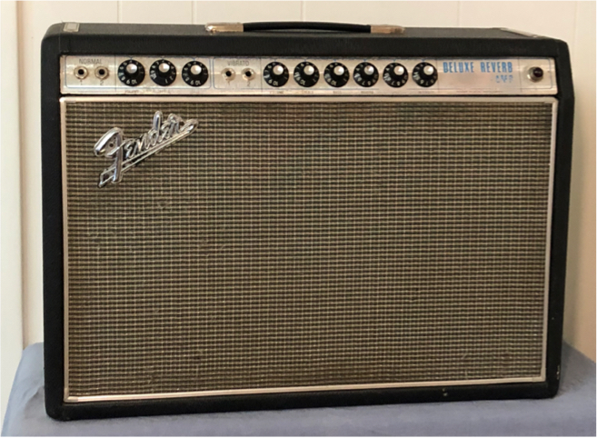 (1968) Fender Deluxe Reverb – Black Face Circuit