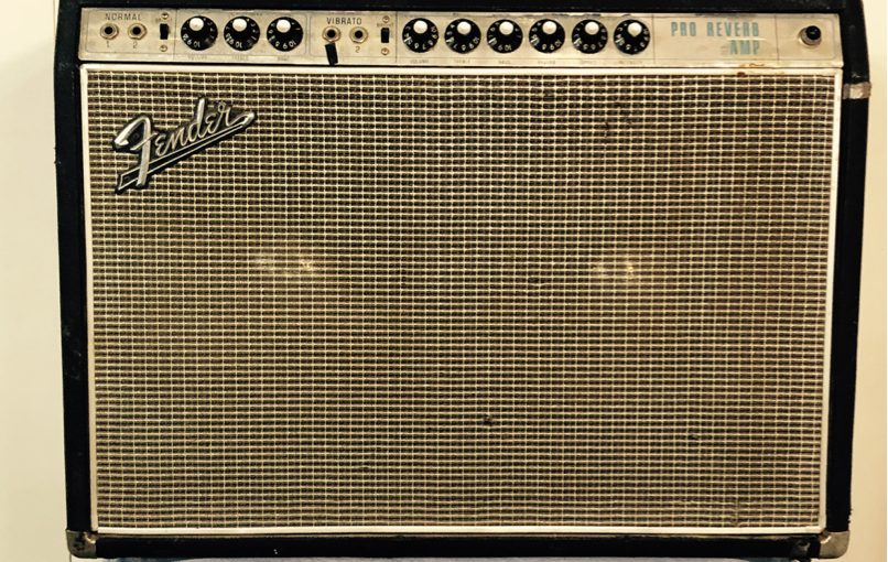 (1968) Fender Pro Reverb – Black Face Circuit!